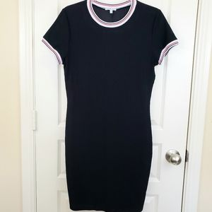 Charlotte Russe Sporty Jersey Fitted Dress